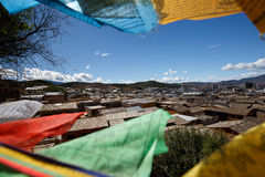 Shangrila, Yunnan, China and the place nearby. June 2015 stock images