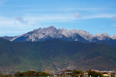 Shangrila, Yunnan, China and the place nearby. Stock Photography