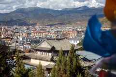 Shangrila, Yunnan, China and the place nearby. Stock Images