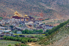 Shangrila, Yunnan, China and the place nearby. Stock Photos
