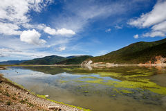 Shangrila, Yunnan, China and the place nearby. June 2015 royalty free stock image