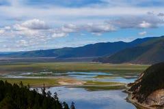 Shangrila, Yunnan, Chiny i miejsce w pobliżu, Fotografia Stock