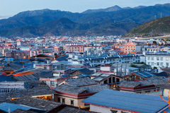 Shangrila, Yunnan, Chiny i miejsce w pobliżu, Zdjęcie Royalty Free