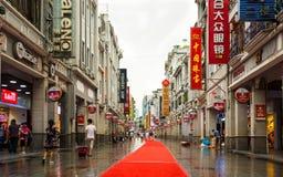 Shangxia Jiu Lu Guangzhou royalty-vrije stock afbeelding