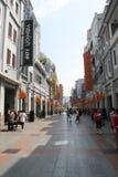 Shangxiajiu Pedestrian Street. Or simply as Shangxiajiu, is a commercial pedestrian street in Liwan District, Guangzhou, Guangdong, China. It is the first Stock Photography
