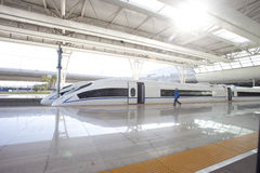 Shanhai Railway Station for high-speed trains Royalty Free Stock Image