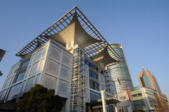 Shanhai Urban Planning Exhibition Center Stock Images