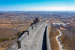 Shanhaiguan Pass at Great China Wall Royalty Free Stock Images