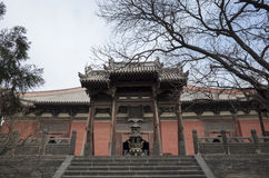 Shanhua temple Royalty Free Stock Photography