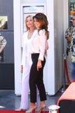 Shania Twain et Bo Derek Photographie stock libre de droits