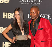 Shanina Shaik and Tyson Beckford Stock Image