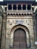 Shaniwar wada,印度 免版税库存照片