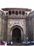 Shaniwarwada Entrance. The entrance of the famous Shaniwarwada fort in Pune,India built by Shivaji Maharaj Stock Images