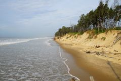 Shankarpur beach west bengal India Royalty Free Stock Images