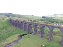 Shankend Viaduct Royalty Free Stock Photography