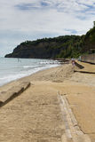 Shanklin beach Isle of Wight England UK, popular tourist and holiday location east coast of the island on Sandown Bay Stock Image