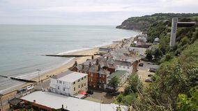 Shanklin Isle of Wight beach and coast Stock Images