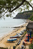Shanklin Isle of Wight popular tourist and holiday town Stock Image