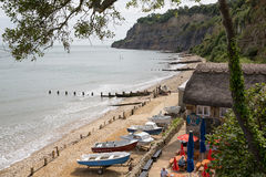 Shanklin Isle of Wight popular tourist and holiday town Royalty Free Stock Photography