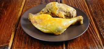 Shanks baked chicken. Stock Image