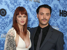 Shannan Click and Jack Huston Royalty Free Stock Image