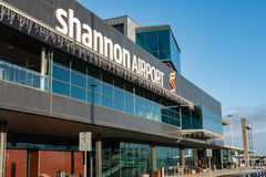 Shannon Airport, Ireland - December 27th 2016: Shannon Airport is Irelands 2nd largest airport in Ireland County Clare. Royalty Free Stock Photos