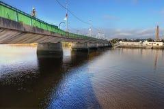 Shannon brigde in der Limerick-Stadt - Irland. Stockbilder