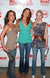 Shannon Elizabeth,January Jones,Eliza Dushku Royalty Free Stock Photos