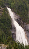 Shannon Falls on a cold blustery day. Royalty Free Stock Image
