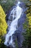 Shannon Falls nära Squamish Fotografering för Bildbyråer