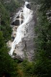 Waterfall. Shannon Falls, near Squamish, BC, Canada Royalty Free Stock Photography