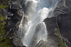Shannon Falls, waterfall Royalty Free Stock Photo