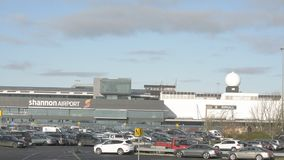 Shannon International Airport, County Clare, Ireland - CIRCA 2016 - Ireland's Second Largest International Airport. stock footage