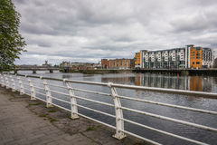 Shannon riverside in Limerick Stock Images