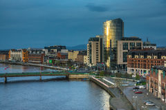 Shannon riverside in Limerick Royalty Free Stock Photography