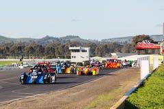 Shannons medborgare, runda 3, Winton Motor Raceway Juni 10-12 Arkivfoto