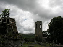 Shanrahan公墓Tipperary 免版税库存照片