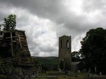 Shanrahan kyrkogård Tipperary royaltyfri foto