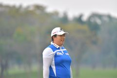 Shanshan Feng in Honda LPGA Thailand 2018 Royalty Free Stock Photography