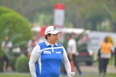 Shanshan Feng i Honda LPGA Thailand 2018 Arkivfoton
