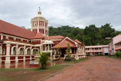 Shanta durga Hindu temple, India Royalty Free Stock Photo