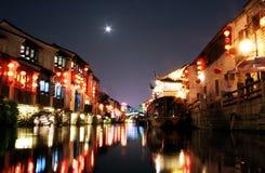 Shantang street at suzhou. Suzhou is a historic city ,the city also named the Venice of China royalty free stock photos