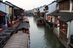 Shantang Street,Suzhou,Jiangsu ,China Royalty Free Stock Photo