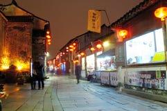 Shantangjie Street night Royalty Free Stock Photography