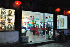 Shantangjie Street night Stock Photography
