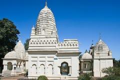 Shanti Nath, östliga tempel i Khajuraho royaltyfri fotografi