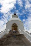Shanti Stupa, висок Стоковые Фотографии RF