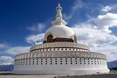 Shanti stupa Stock Image