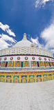 Shanti Stupa Image libre de droits