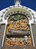 Shanti stupa Zdjęcie Royalty Free